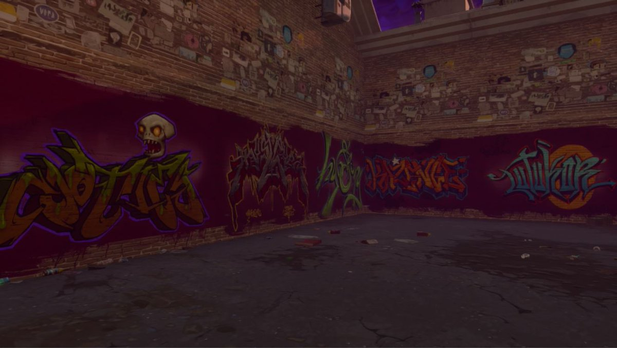Will Kinsler On Twitter In Early Alpha We Added A Graffiti Wall With Names Of Players Who Spent The Most Time Playing Just Ran Across It