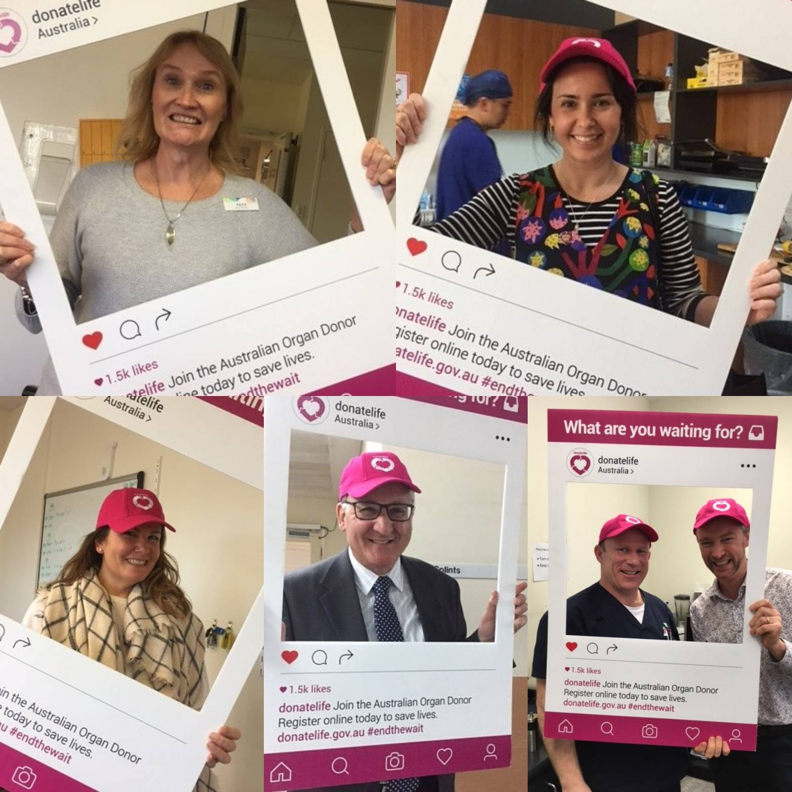 Western Health have celebrated #donatelife week with a fantastic morning tea! #makeitcount register your decision at https://t.co/DwlyOO7oVs https://t.co/lvPjrQkJ3v