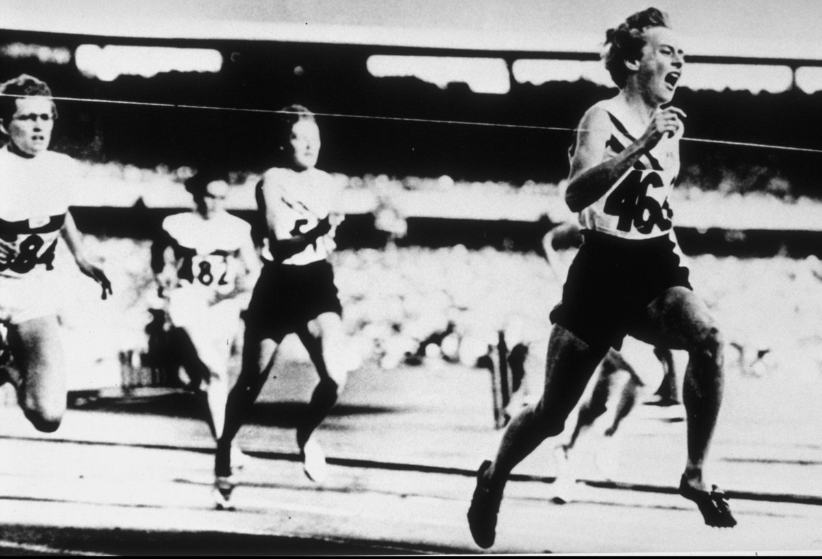 Vale Betty Cuthbert. The golden girl fro...
