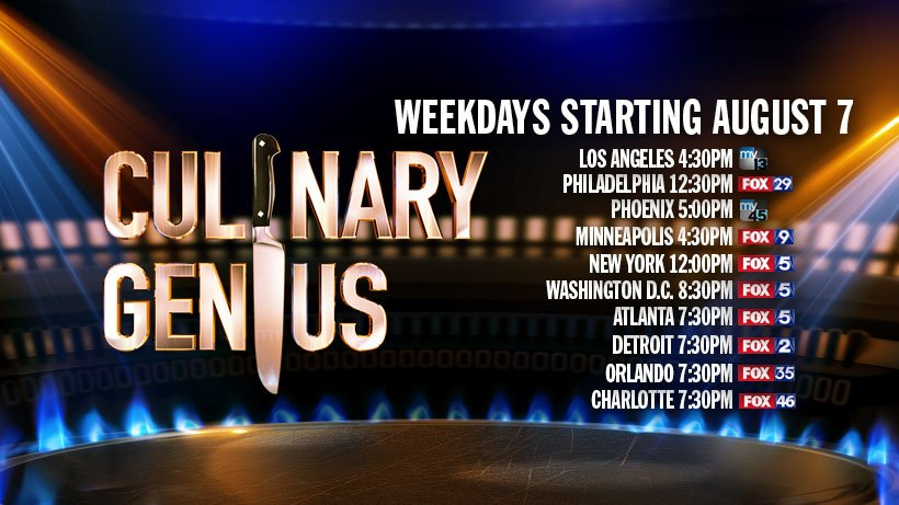 America, are you ready for @CG_America today ????? See how you can watch #CulinaryGenius below: https://t.co/ECJ0fkjwYR