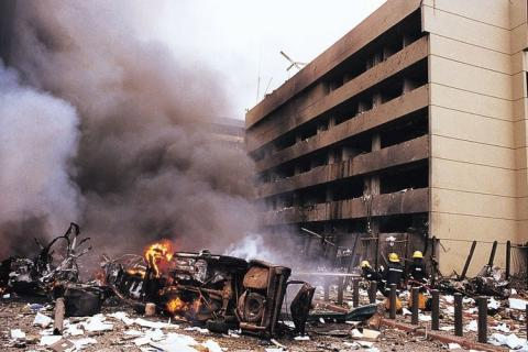 Today is also the 19th anniversary of the August 7th 1998 @USEmbassyKenya bomb blast. May we never forget. https://t.co/8lsDZQhZmC