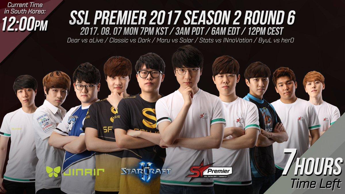 2017 SSL Premier 2. szezon 6. hét