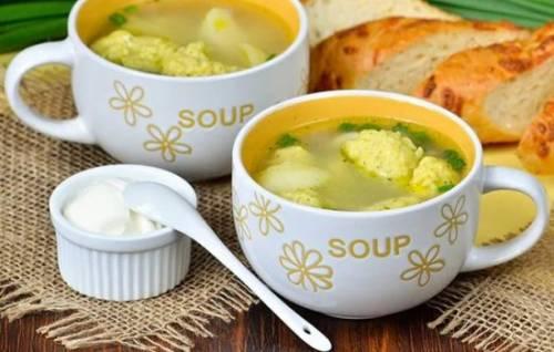 Овощные супы рецепты диетические