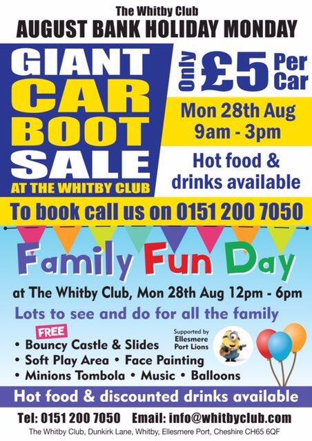 Car Boot Sale Ellesmere Port