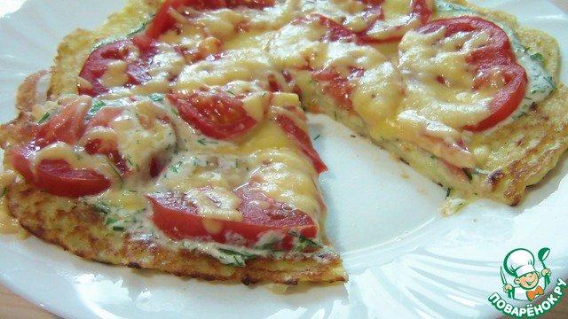 Рецепт пицца с ананасом