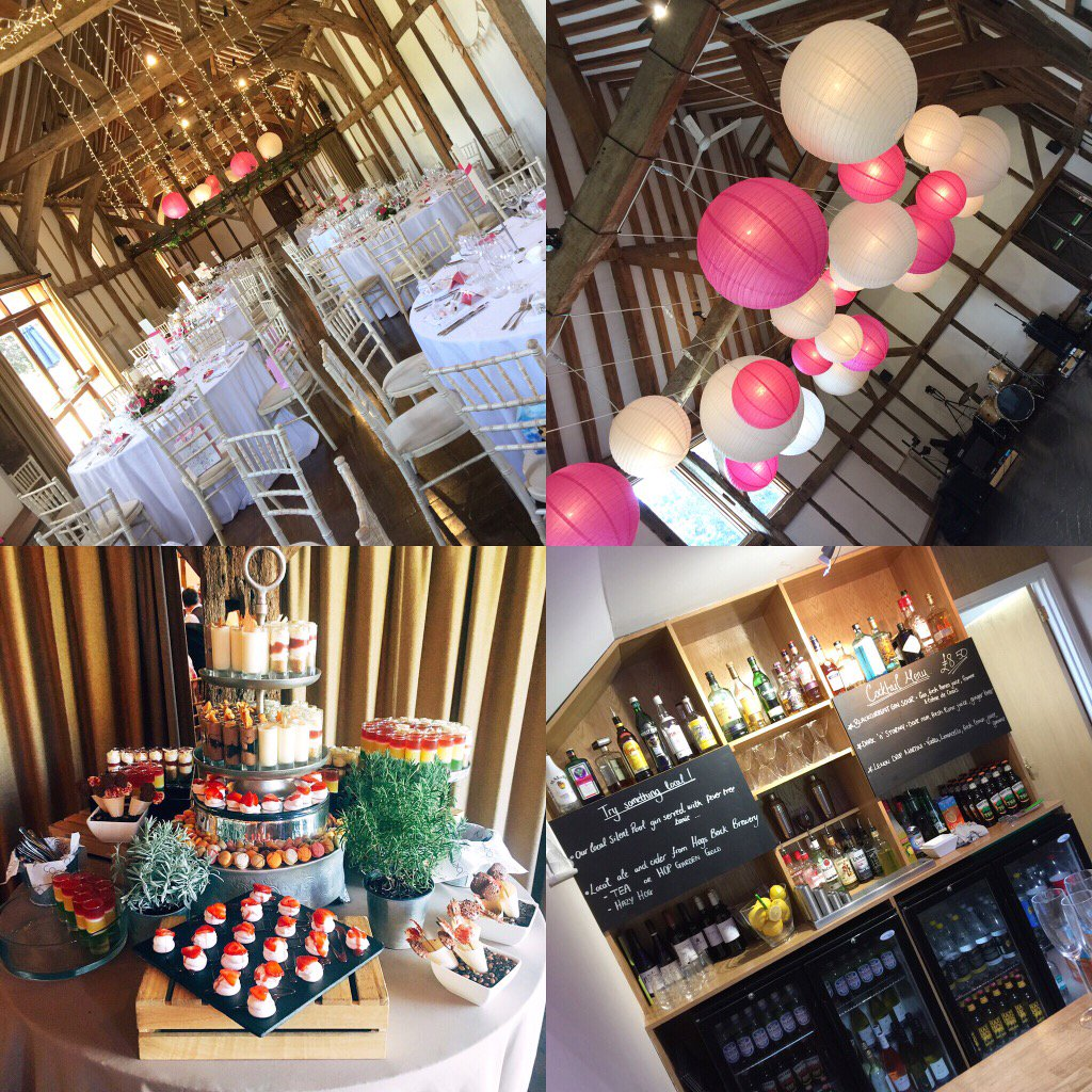 Snapshot from Saturday's #wedding in the #barn @LoseleyPark @Loseleyevents - all ready to party!