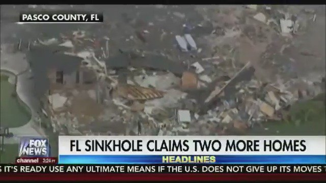 Florida sinkhole condemns two more homes https://t.co/r6LnqBWvx9