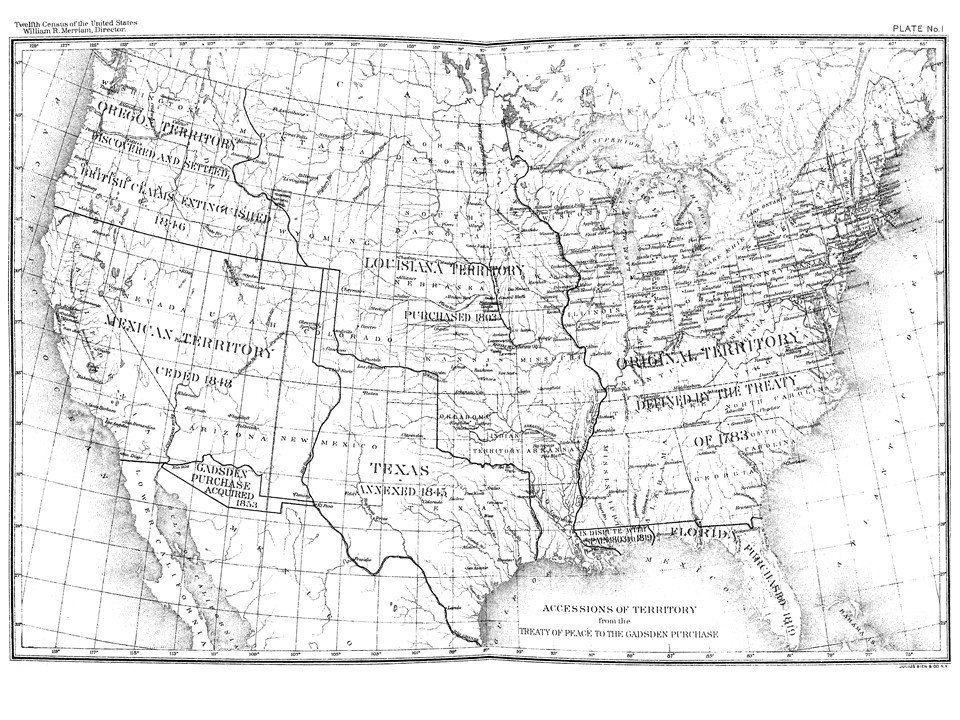 Us Census Bureau On Twitter Mapmonday This 1900 Census Map - Us-census-map