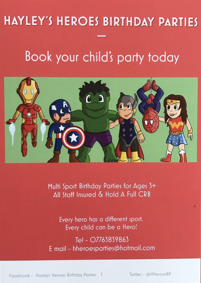 superhero birthday party essex