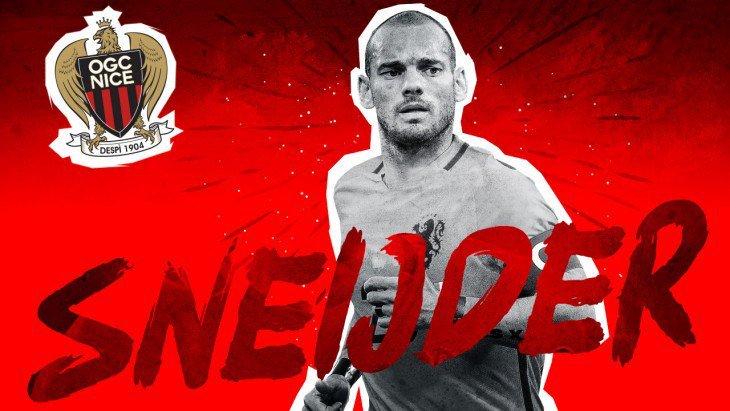 🔴 OFFICIEL ! Wesley Sneijder s'engage avec l'OGC Nice et portera le numéro 10 !