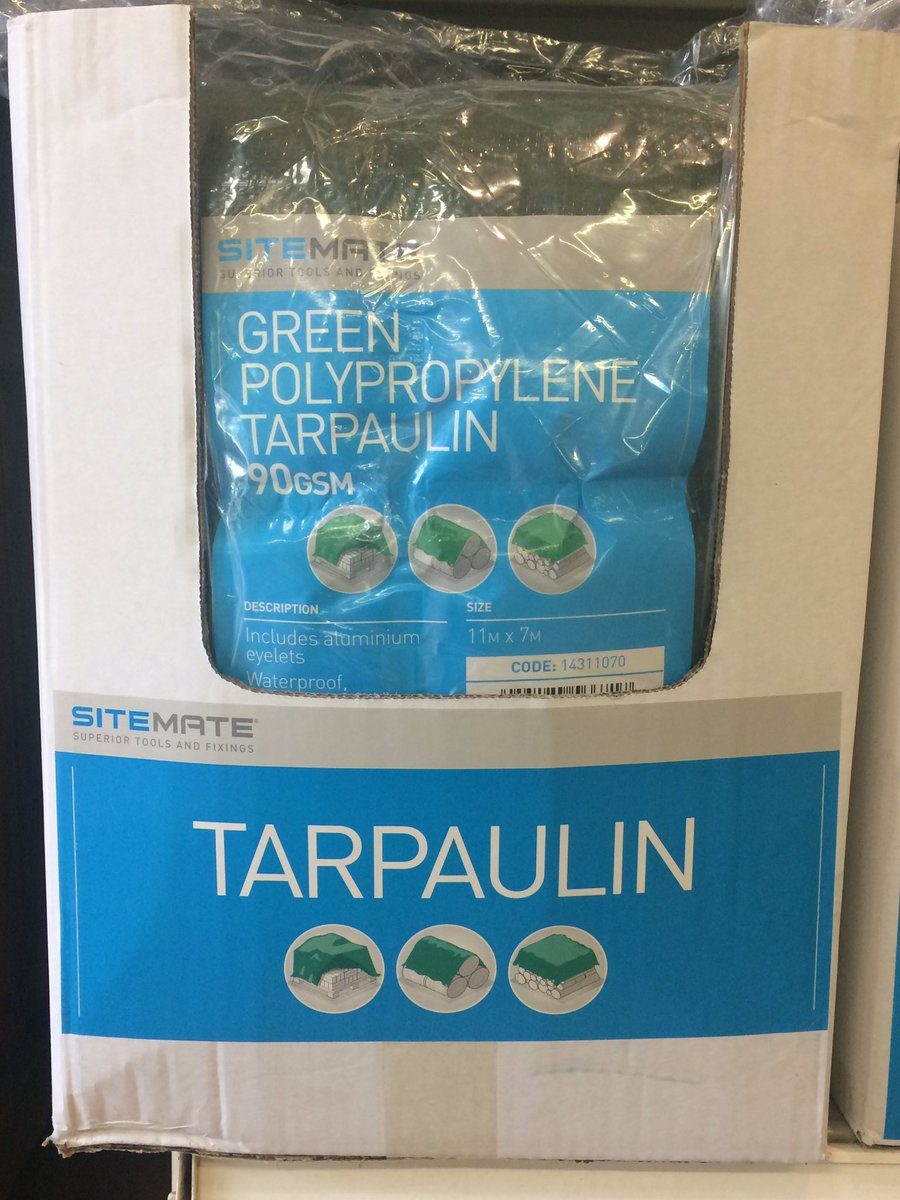 #DidYouKnow we now stock #tarpaulin - 5 different sizes in 80gsm and 90gsm #bondtimber #outdoor #diy #Retail #shopping #rain<br>http://pic.twitter.com/cWKfpMCPQw