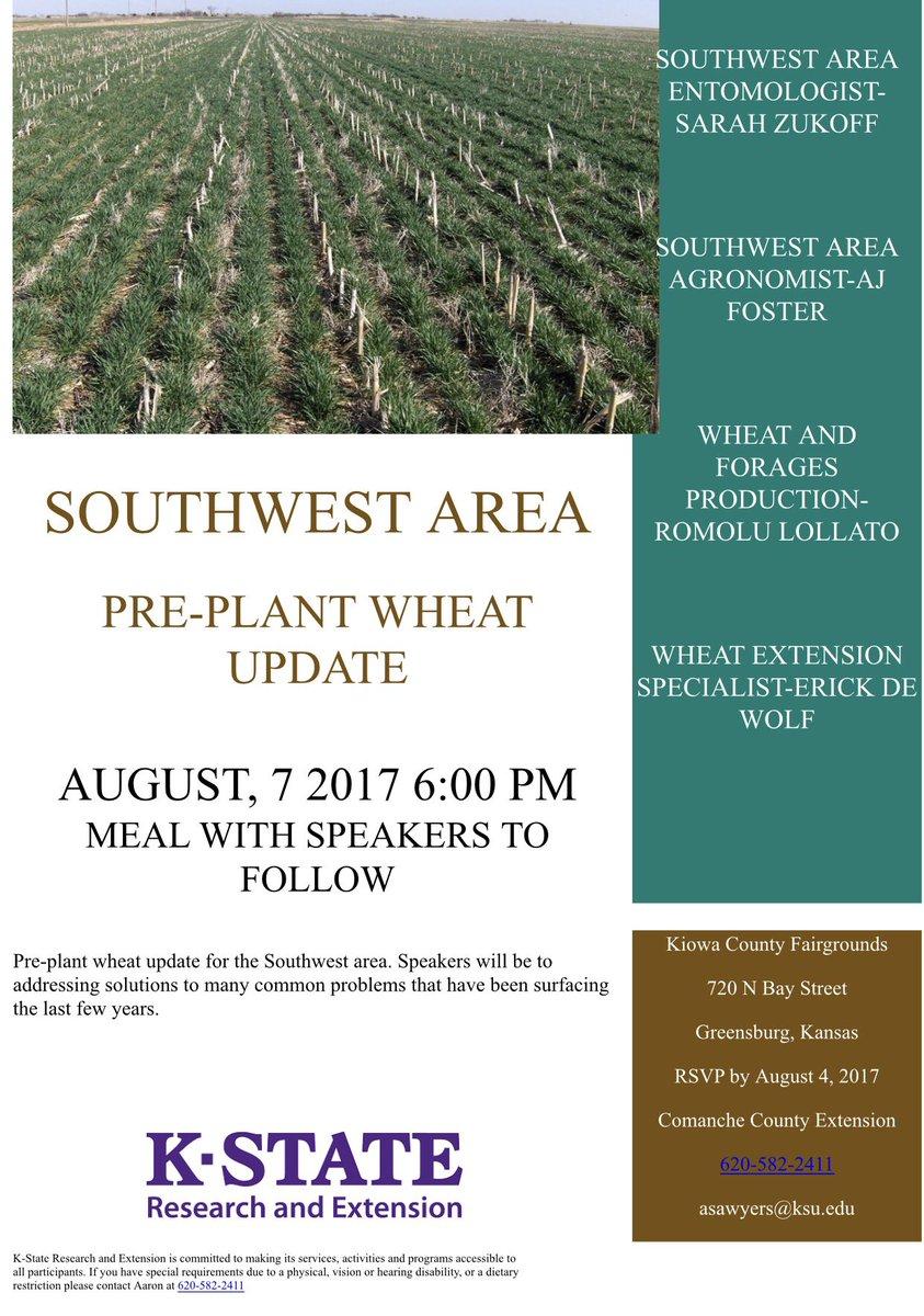Kansas brown county everest - Erick Dewolf Aj Foster Ks Wheat Alliance And Mark Stadtlander