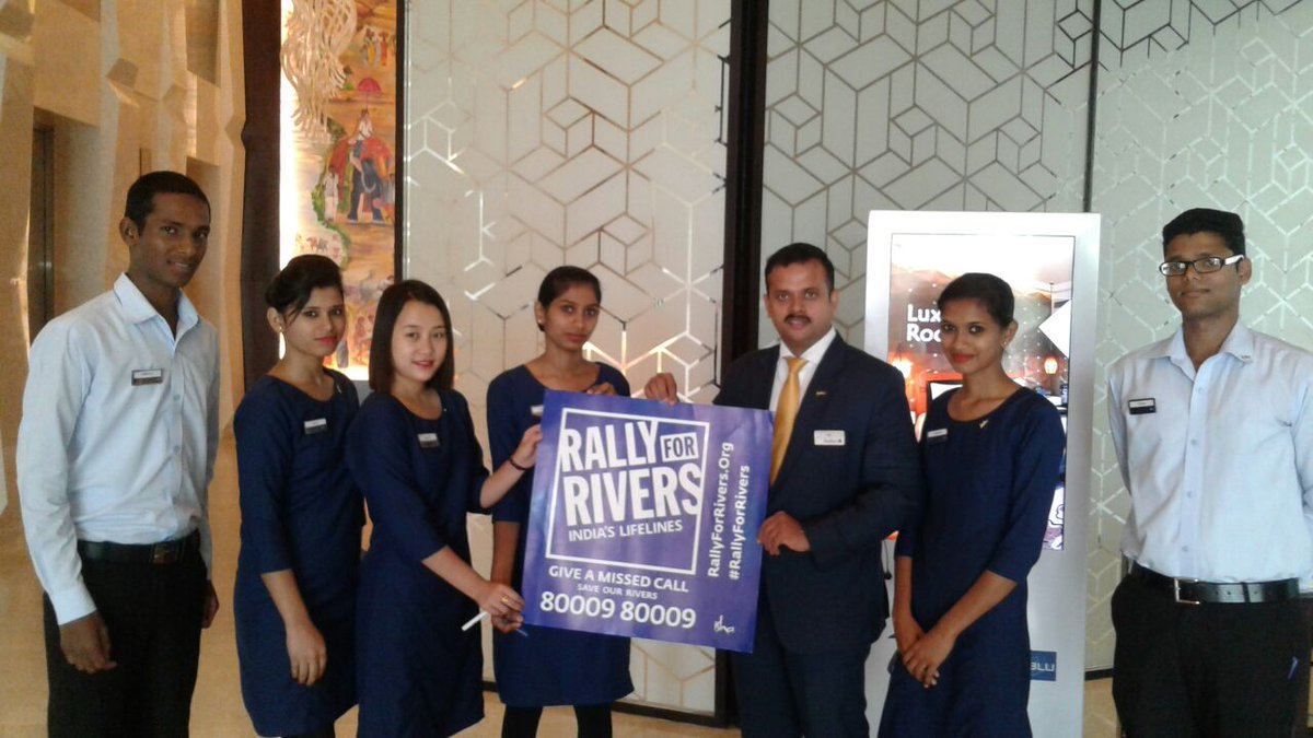 Rally For Rivers Cauvery Calling On Twitter Quot Hotels Taj
