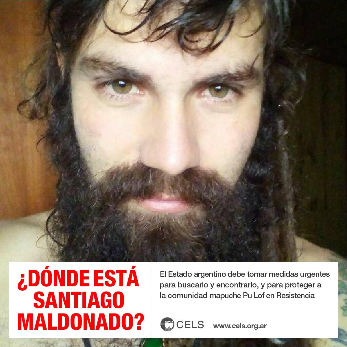 ¿Dónde está Santiago Maldonado? https://t.co/M3PhoiW62d