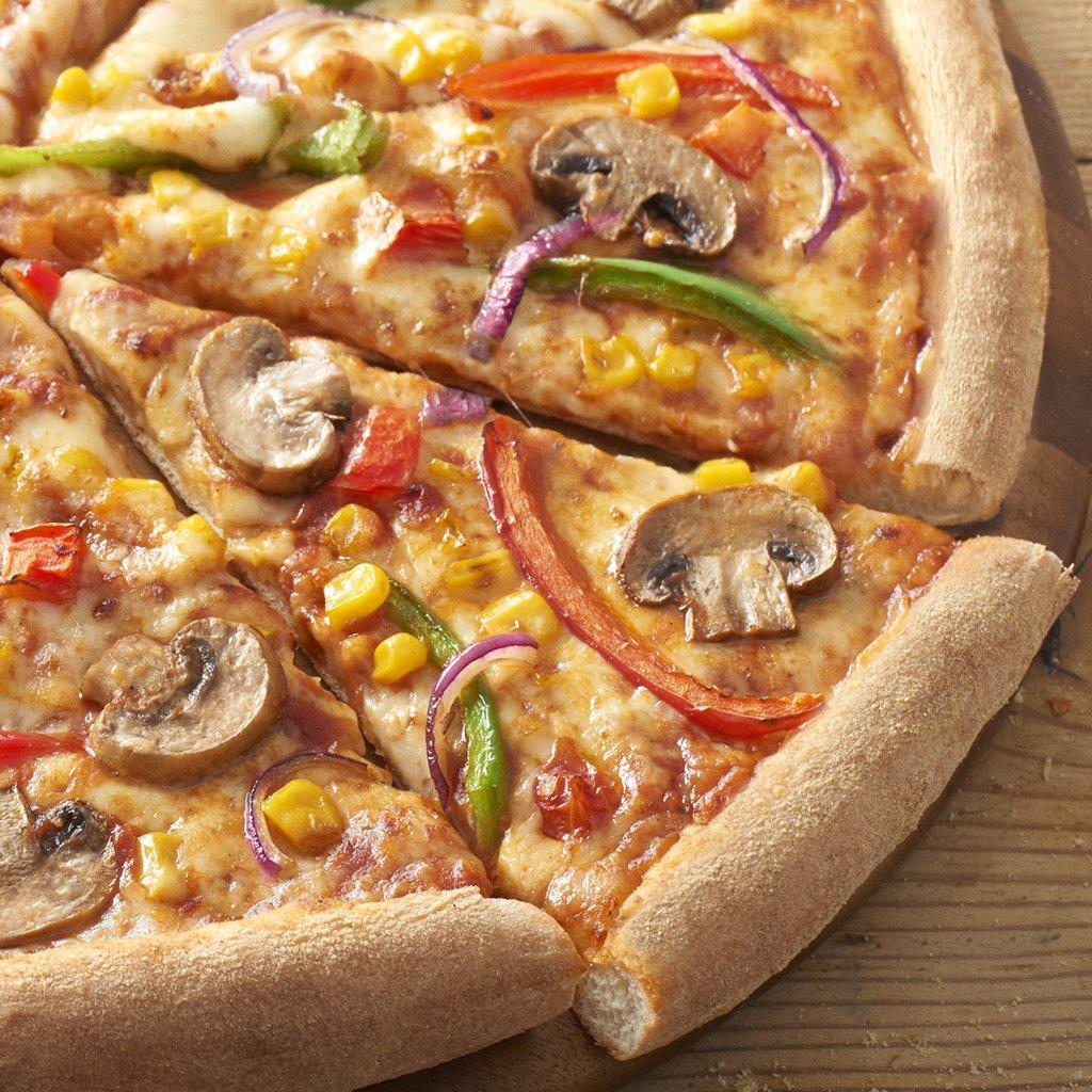 """Domino's Pizza ROI on Twitter: """"Here's a (Vegi) Supreme slice of ..."""
