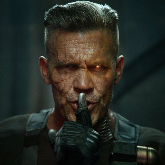 MEET CABLE. #Deadpool2