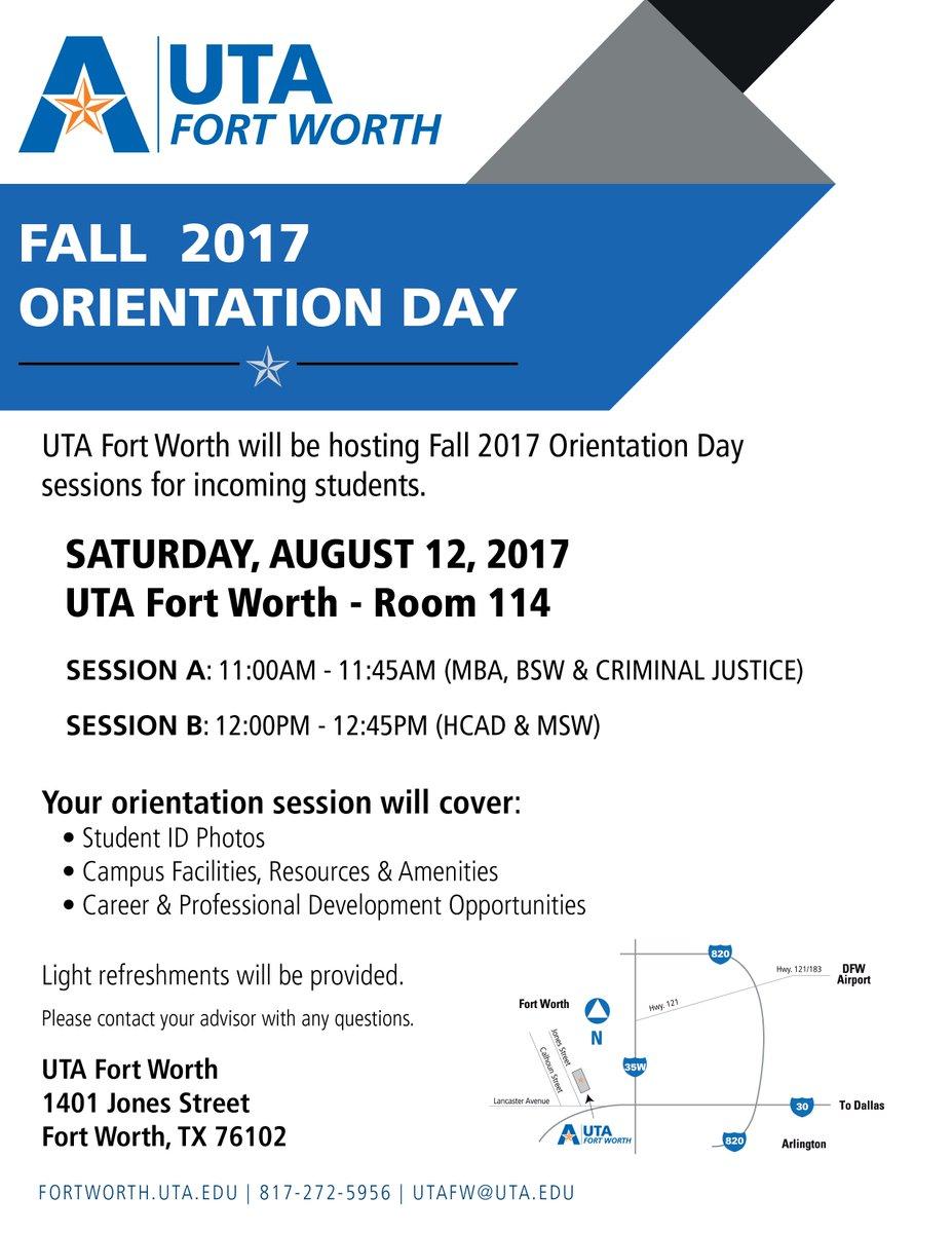 Media Tweets by UTA Fort Worth (@utafortworth_) | Twitter
