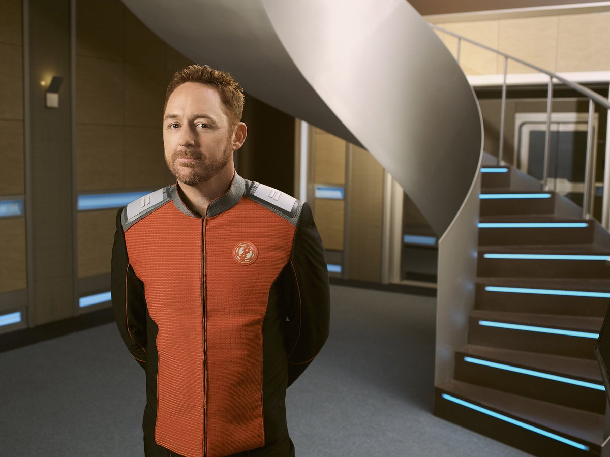 Hello my name is Gordon Malloy! Nice to meet you all! Let's go on an adventure together! @TheOrville https://t.co/I2V9MqSr2r