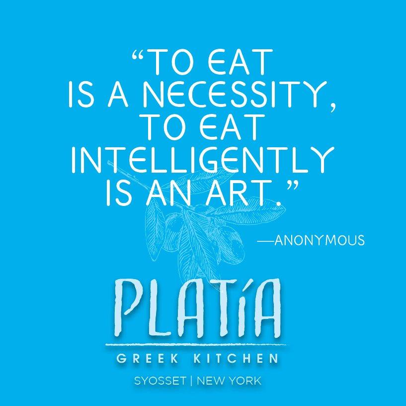 Platia Greek Kitchen (@PlatiaSyosset) | Twitter