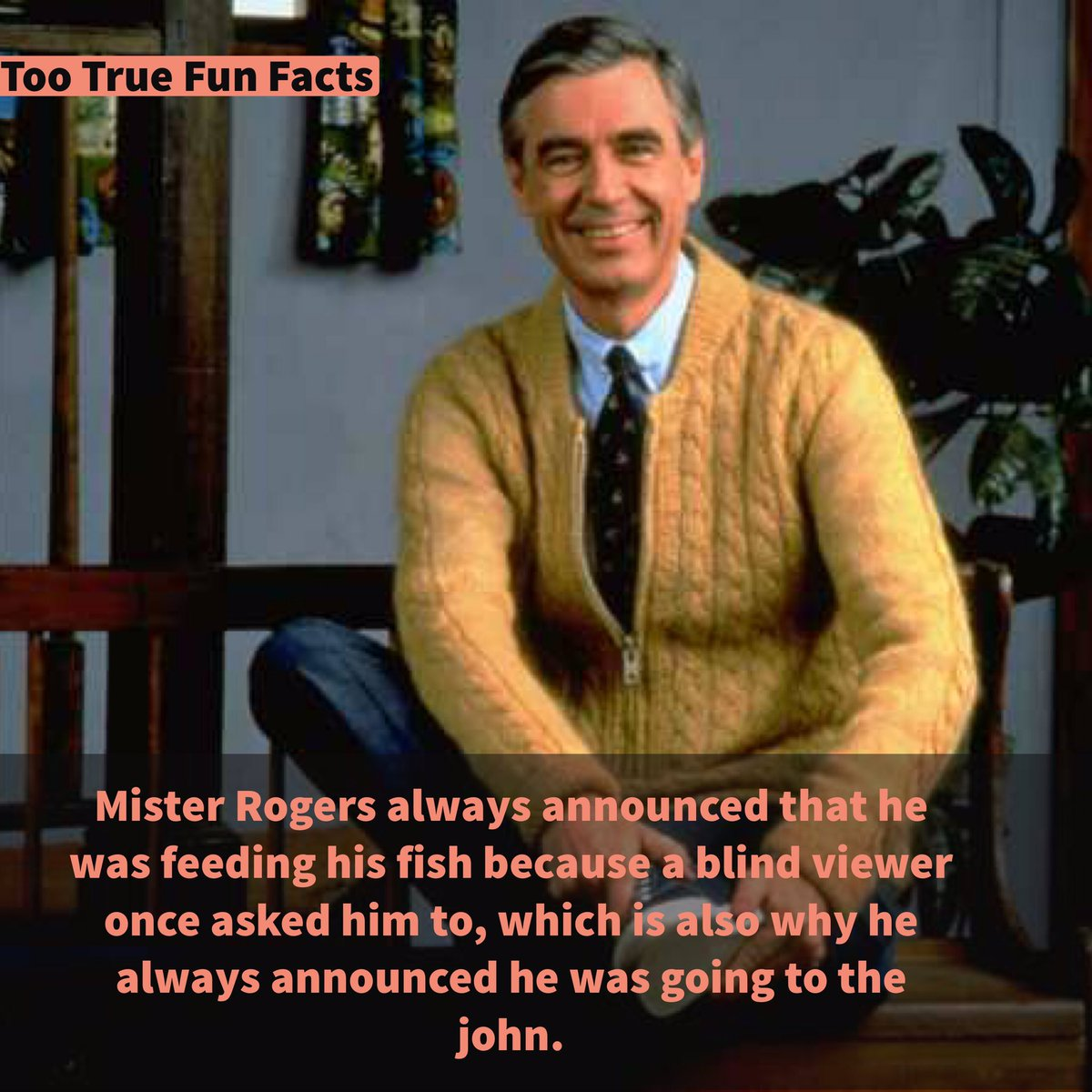 Too True Fun Facts On Twitter Mister Rogers Fun Fact Celebrity
