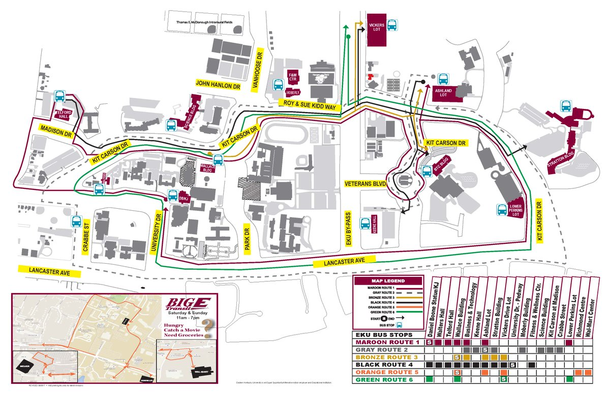 Eku Parking Services On Twitter Most Current Version Of The Eku