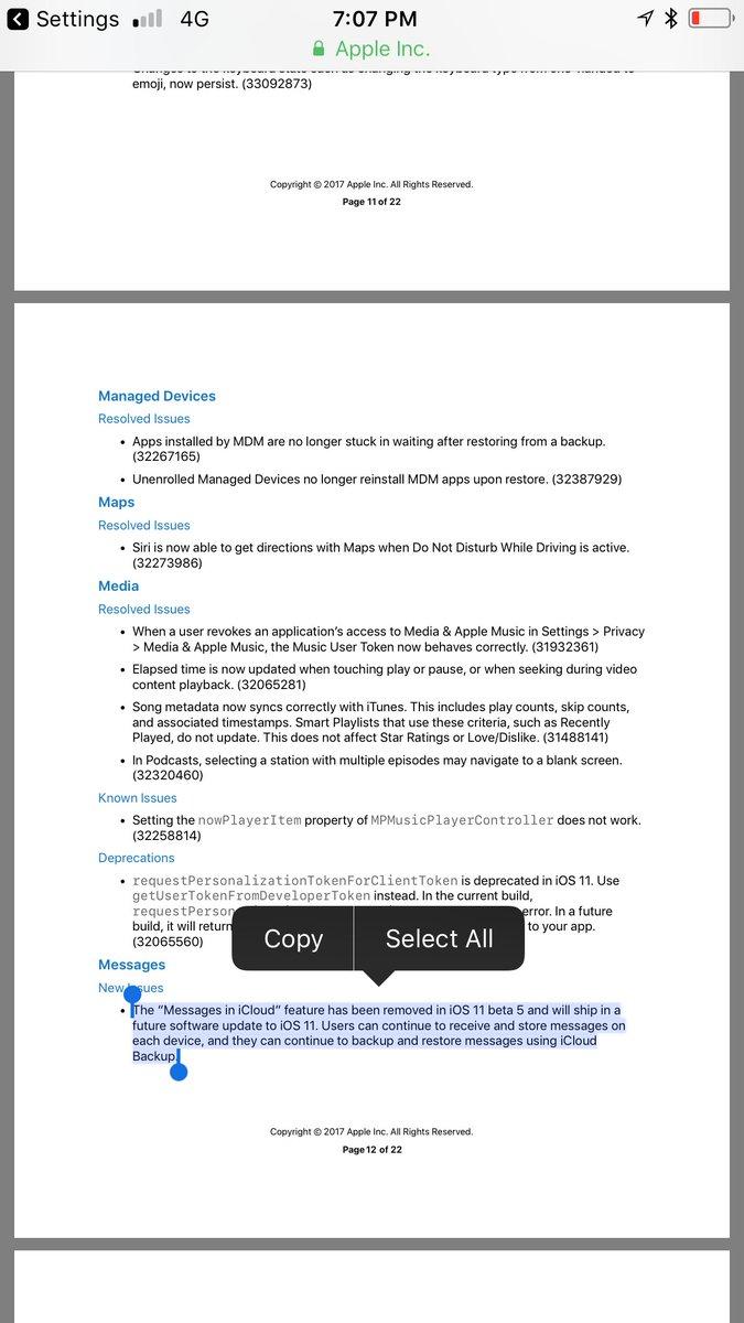 Apple just released iOS 11 developer beta 5