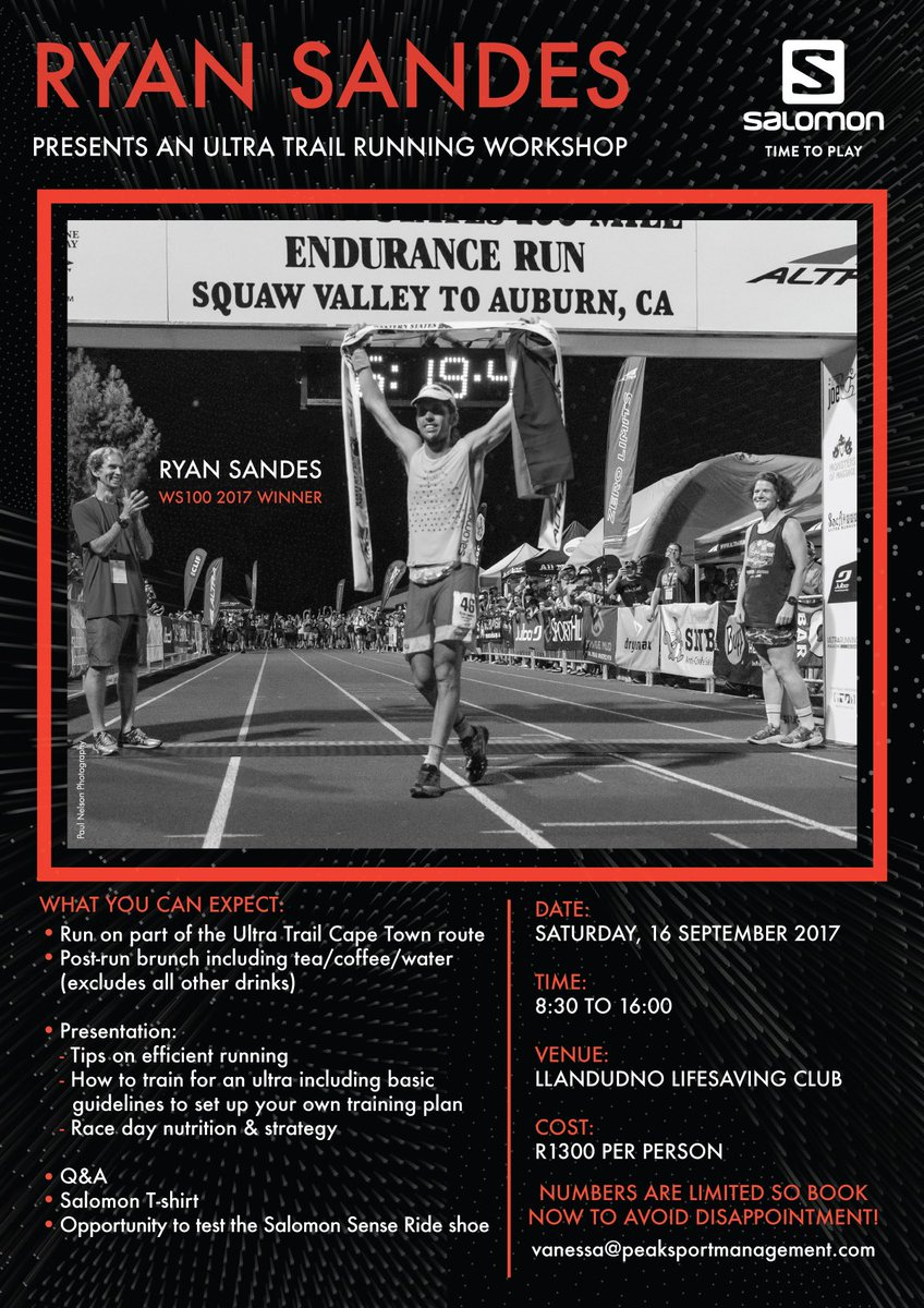 The OTTER Trail Run, Runner's World SA, Trail Magazine and 7 others