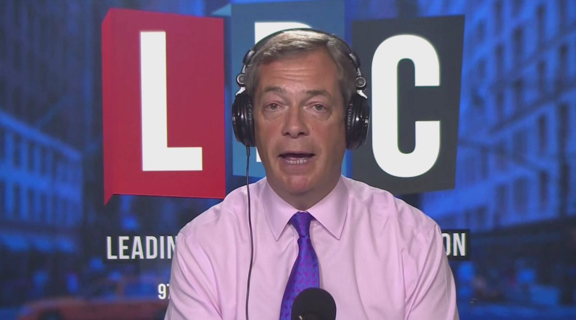 .@Nigel_Farage is taking your calls live from New York. Watch here: https://t.co/rAB7enxbCJ #FarageOnLBC