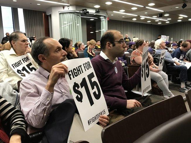 The chair so-called nonpartisan think-tank backing $15 #minimumwage? #AFLCIO&#39;s #RichardTrumka  #MoCo #Mdpolitics  http://www. bethesdamagazine.com/Bethesda-Beat/ 2017/Backlash-Mounts-Against-Countys-Minimum-Wage-Study &nbsp; … <br>http://pic.twitter.com/Oc0477fDRn