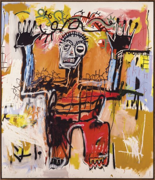 In a #basquiat kind of mood. <br>http://pic.twitter.com/svOHwE2gFS