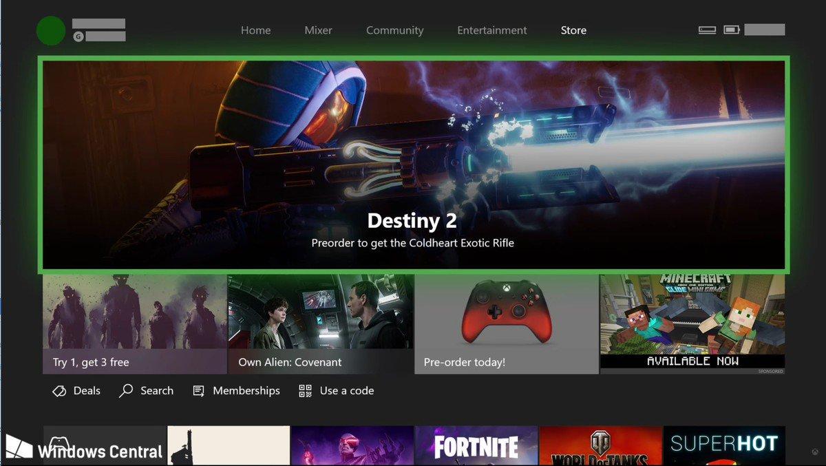 Fluent Design, meet @Xbox. @Xbox, meet Fluent Design. Updates arrive this fall. https://t.co/mEEQ9QEAmV https://t.co/RZ9lWuAWBI
