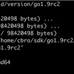 Image for the Tweet beginning: Go 1.9 RC2 is released!  Run