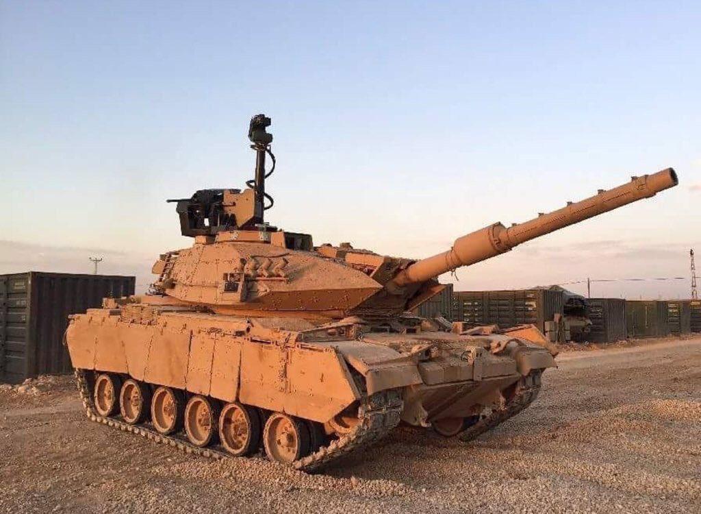 تعرف على الترقيه التركيه الاحدث لدبابه M60 T  DGqWWjZXkAIkUT5
