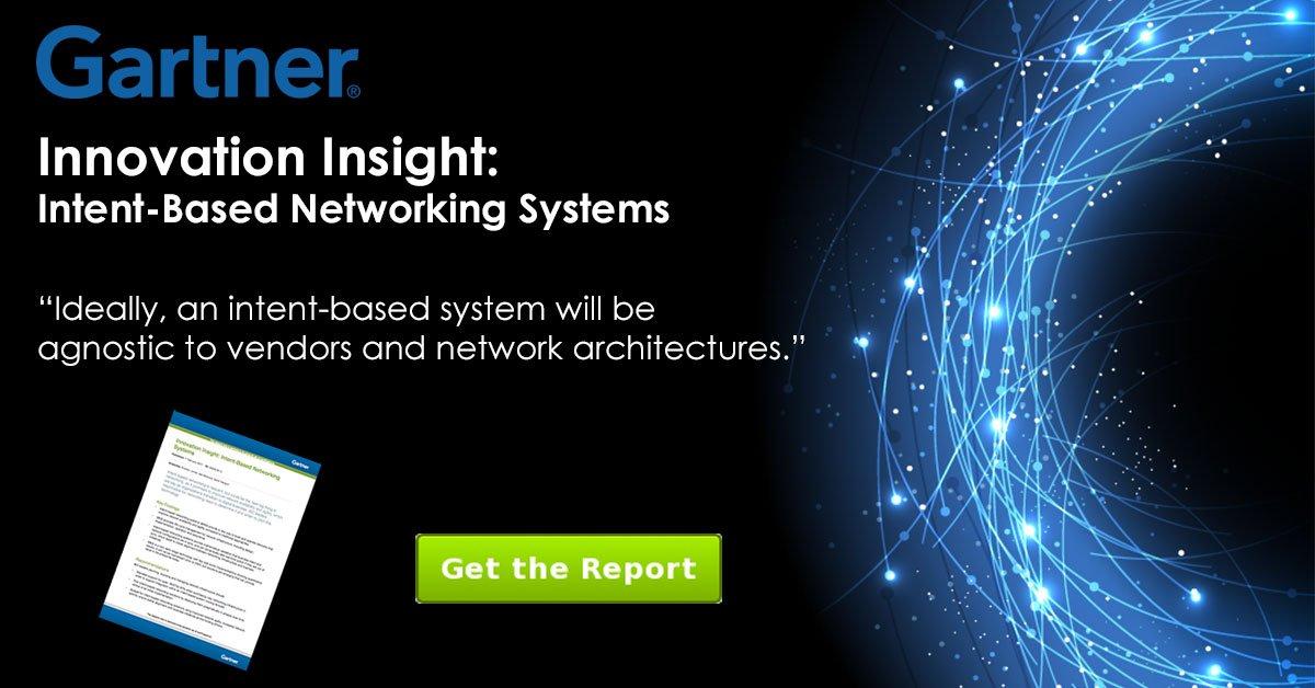 Read the @Gartner_Inc report &quot;Innovation Insight: #IntentBasedNetworking Systems&quot;  http:// hubs.ly/H08jsV00  &nbsp;   #DataCenter #Cloud #SDN #DevOps<br>http://pic.twitter.com/KWLJOrtJn2