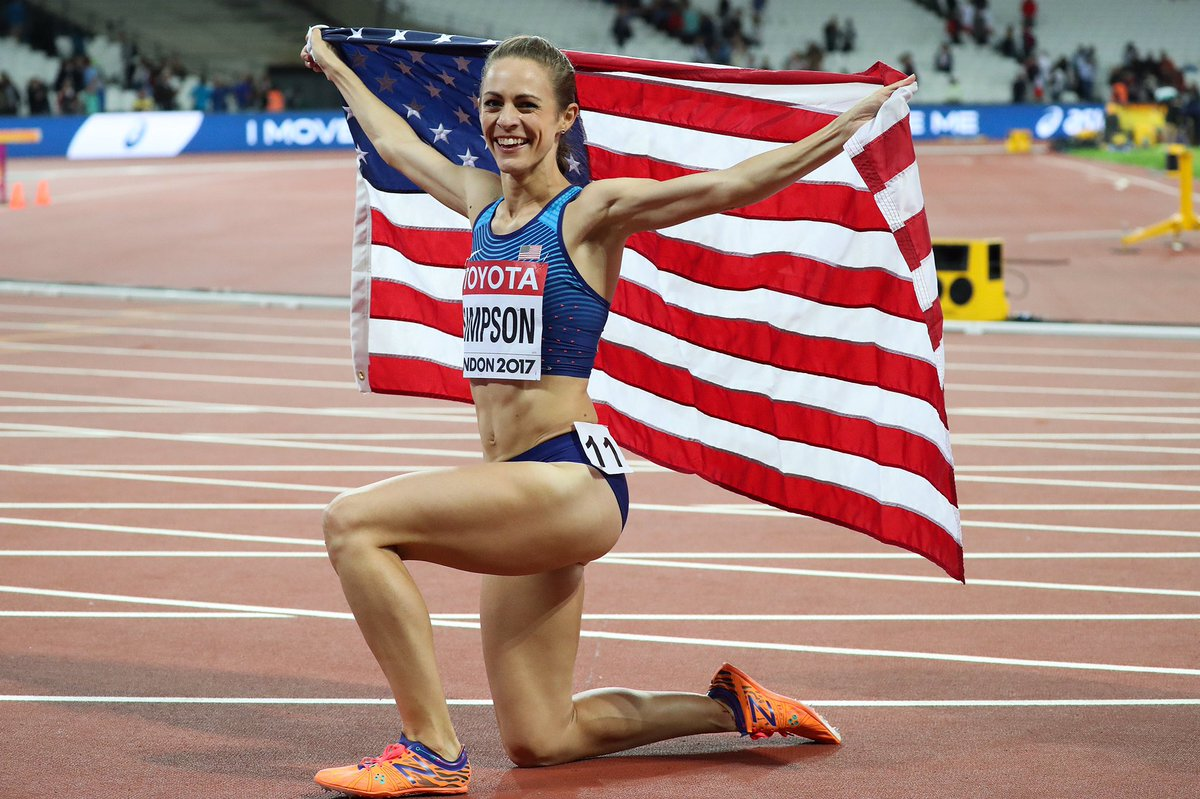 Fast never fails. Congratulations to @trackjenny for taking home silver at IAAF World Championships! #TeamNB #IAAFWorlds #London2017