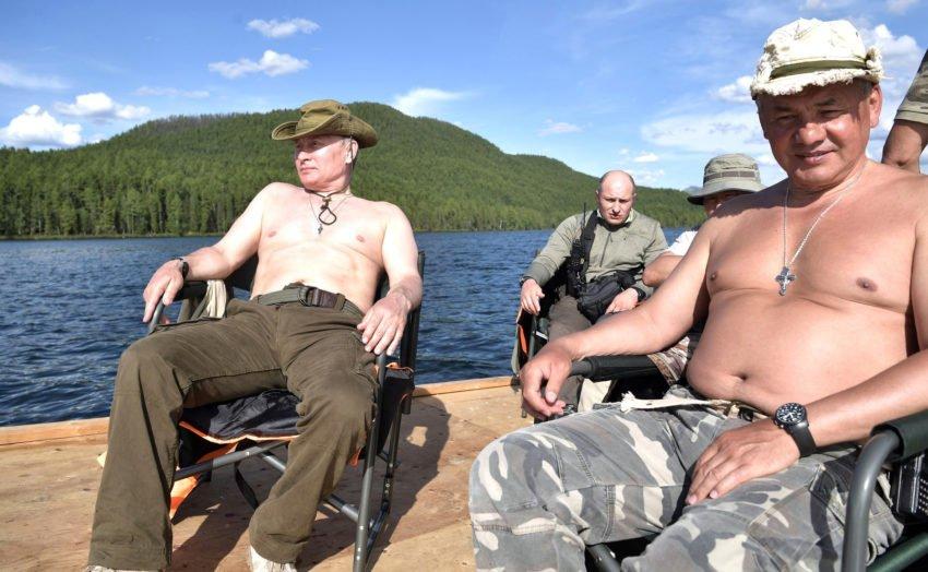 quando aquela sua pescaria no pantanal parece as férias de putin na sibéria