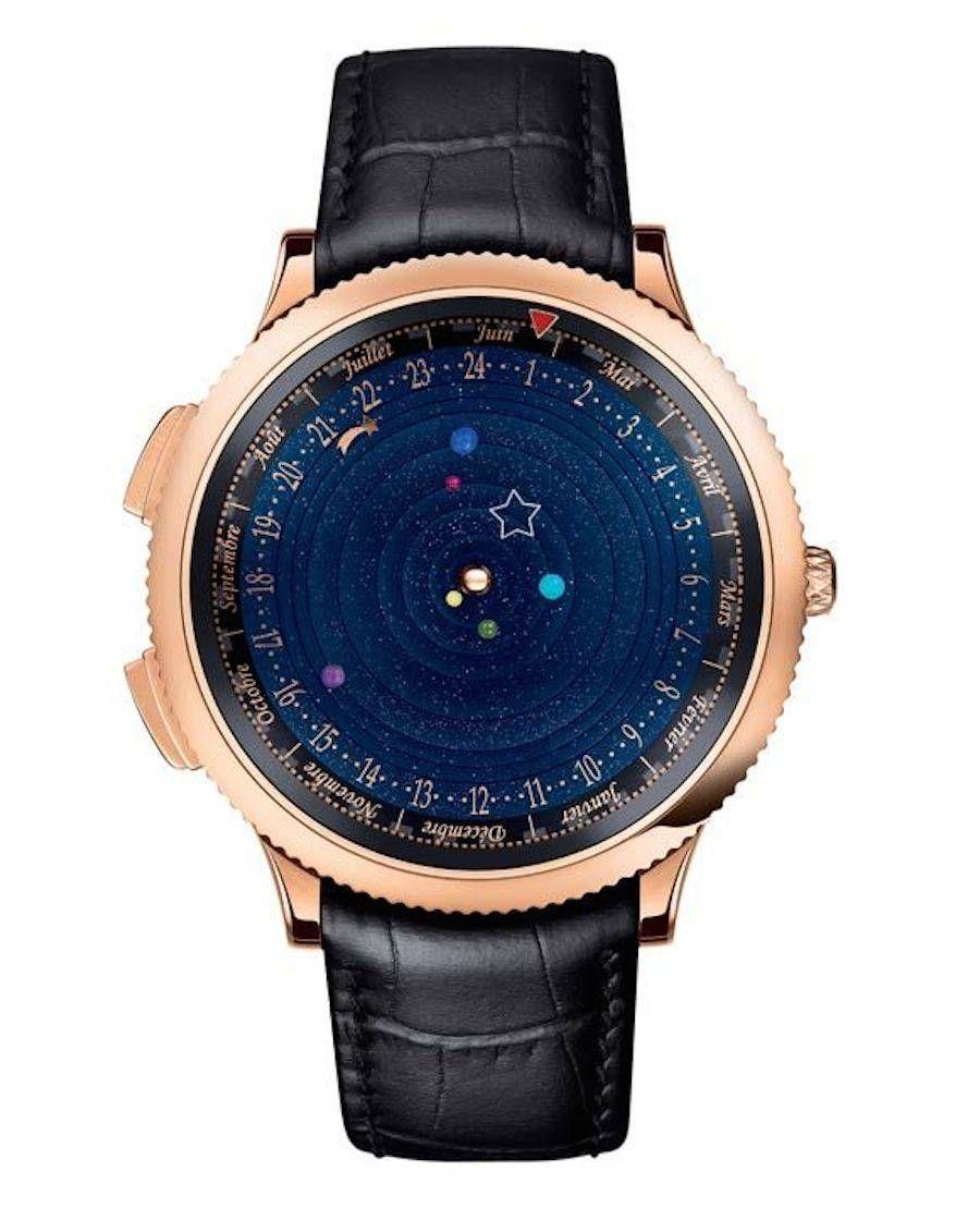 Механические часы орбита