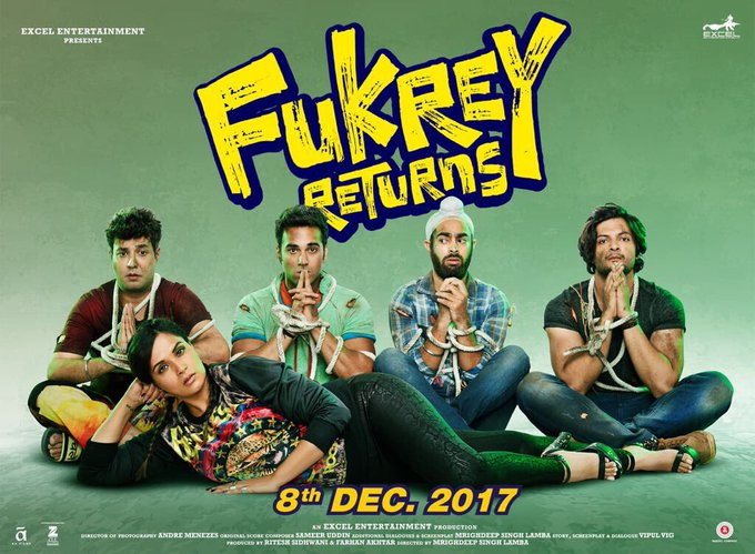 The return of Bholi - matlab phas gaye Fukrey. #FukreyReturnsTeaserTomorrow @FukreyReturns https://t.co/13sWff2zIR