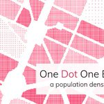 One Dot One Berliner - population density in Berlin. A map experiment https://t.co/IoPZkmpk3o