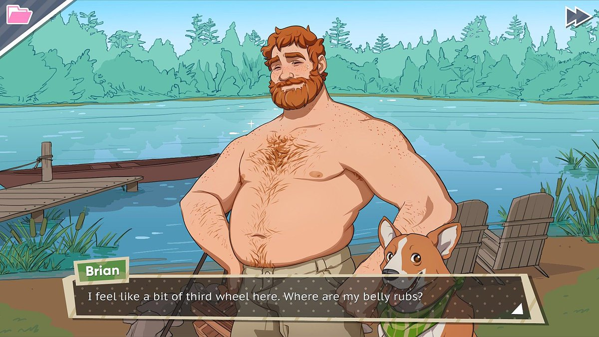 Fantasy dating sim game