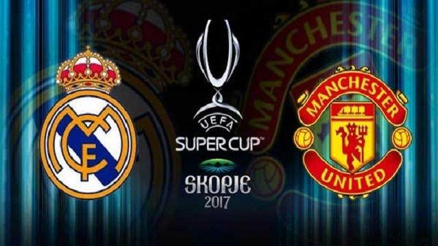 DIRETTA Real Madrid-Manchester United Streaming Gratis in chiaro su Canale 5? Info orari dove vedere Supercoppa UEFA Oggi 8 agosto 2017