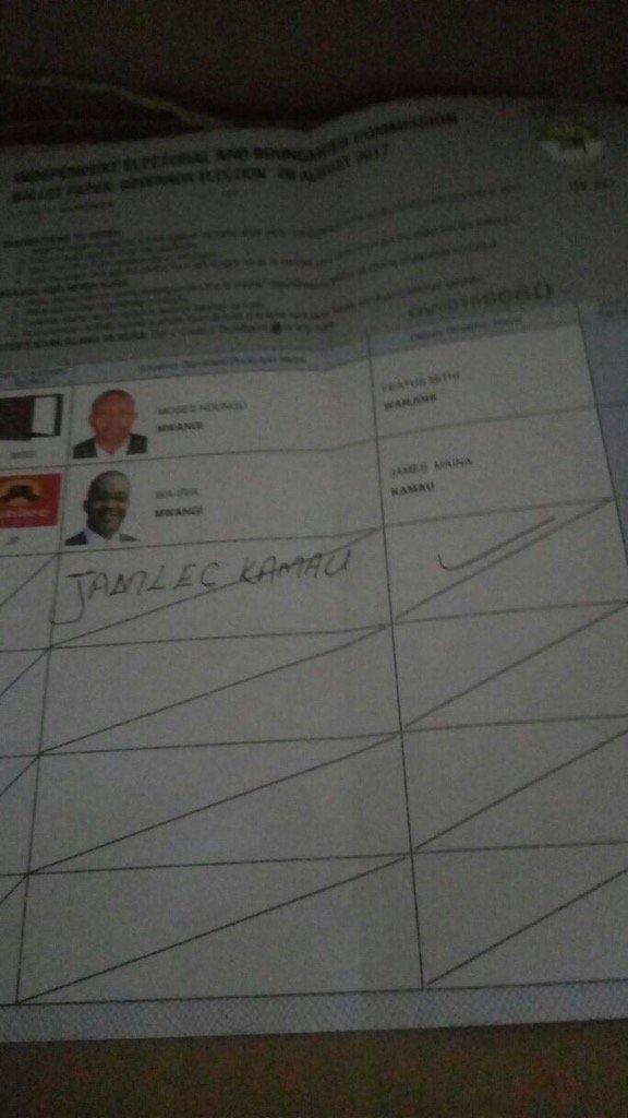 A disgruntled voter in Muranga https://t.co/f6Y5Oj5eke