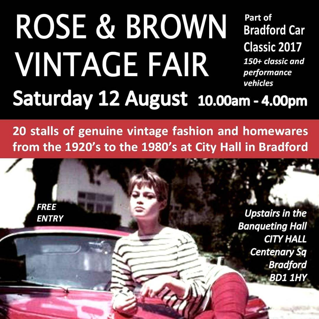 FREE ENTRY #vintagefair coming to City Hall, #Bradford THIS SATURDAY coming! + @BfdClassic car show in Centenary Square! @YorkshirePromos xx<br>http://pic.twitter.com/IUxtw3qucE