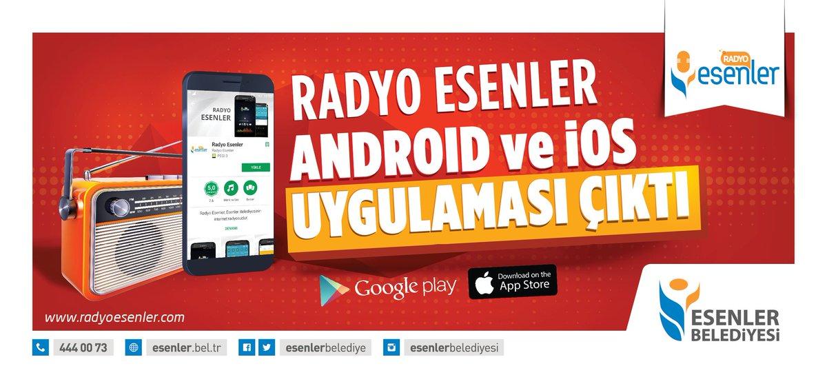 . @radyoesenler 'in iOS ve Android uygulaması çıktı... iOS: https://t....