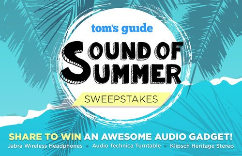 Tom's Guide Sound of Summer #Sweepstakes: Enter To #Win Headphones, Speakers and More https://t.co/6wtptoeHTL https://t.co/GIb3YT6175