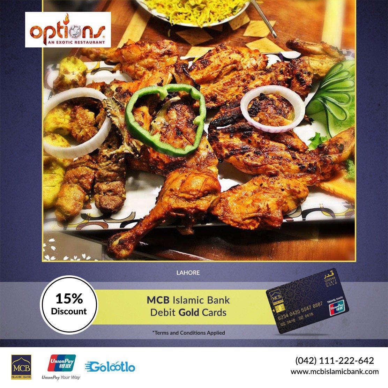 Mcb Islamic Bank On Twitter Qadar Gold Card Now Offers 15