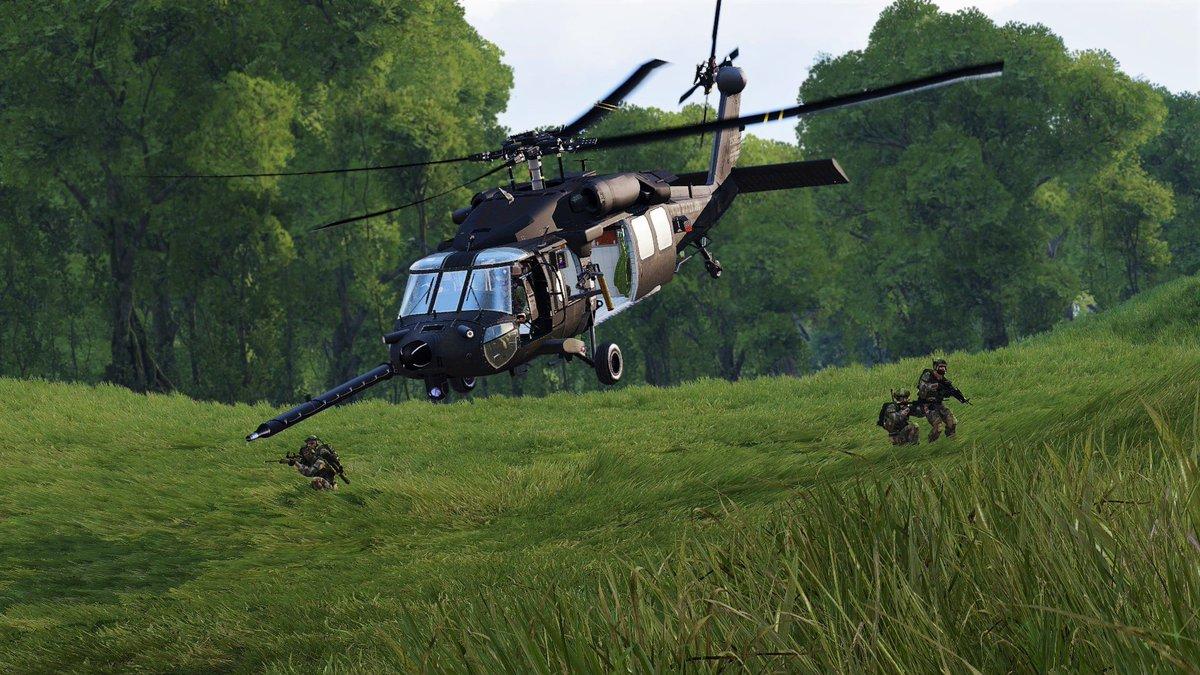 Resultado de imagen para black hawk arma 3