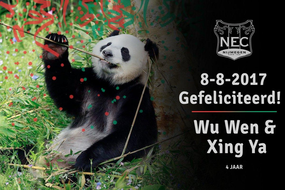N E C Nijmegen On Twitter Feest Wu Wen Xing Ya Vieren Vandaag