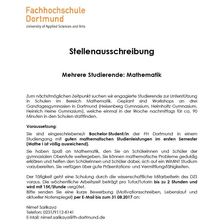 FH Dortmund on Twitter: