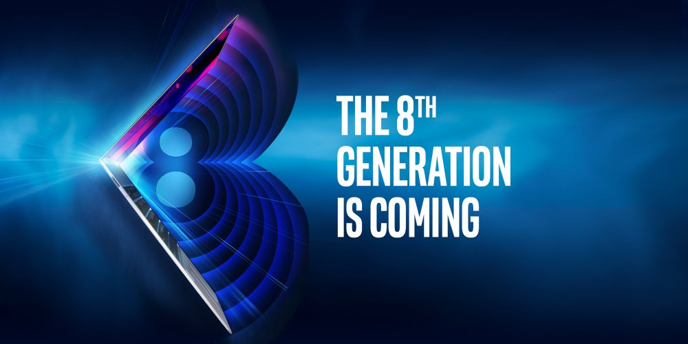Coming Soon: New 8th Gen Intel Core Processor Family to Debut Aug. 21: https://t.co/dSubUpx3aR https://t.co/BGWqo06dPP